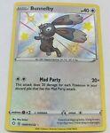 Pokemon Card TCG Bunnelby SV097/SV122 Shining Fates Shiny Holo Rare Near Mint