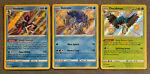 Suicune SV022 Inteleon SV027 Decidueye SV003 Shiny Pokémon Shining Fates