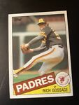 Rich Gossage #90 Topps 1985 Baseball Card (San Diego Padres) VG