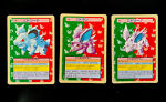 Nidorino Nidoran Nidorina Pokemon Topsun Green Back Cards 1995 (1548)