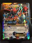 Pokemon TCG Card Mega M Scizor EX 77/122 XY Breakpoint Ultra Rare Full Art Holo!