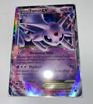 Espeon EX 52/122 Extended Art Breakpoint Holo Ultra Rare Pokemon Card