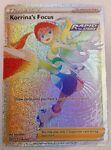 Korrina's Focus 174/163 Full Art Trainer Rainbow Secret Rare Battle Styles NM/M