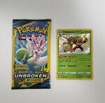 Pokemon Shining Fates Rillaboom SV006/SV122 Shining Foil Rare NM + $1 3Pack