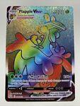 Pokemon Holo NM Flapple VMAX 164/163 Battle Styles