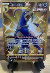 👉Shiny Houndoom Gold Secret Rare Full Art 179/163 Pokémon TCG Battle Styles👈