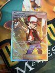 Pokemon Unbroken Bonds Red's Challenge 213/214 Full Art Ultra Rare Holo Played