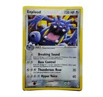 Exploud - 6/101 -Reverse Holo Rare Hidden Legends EX Pokemon NM