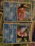 Slowpoke(&Pikachu)Undaunted Pokemon Card 66/90 And Slowbro 38/90 NM Never Played
