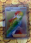 Pokemon TCG Battle Styles 173/163 CHERYL Rainbow Full Art Secret Rare NM/M