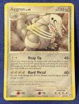 Aggron 1/123 Holo BLEED Rare - See Pics! Pokémon Mysterious Treasures