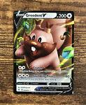 Greedent V 053/072 Shining Fates- NM Ultra Rare Full Art Pokemon Card 🍃🍃🍃