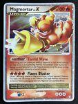 Magmortar Lv.X 123/123 Holo Mysterious Treasures Pokemon Card TCG Ultra Rare