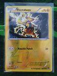 Electabuzz 42/122 Breakpoint Reverse Holo Pokemon Card