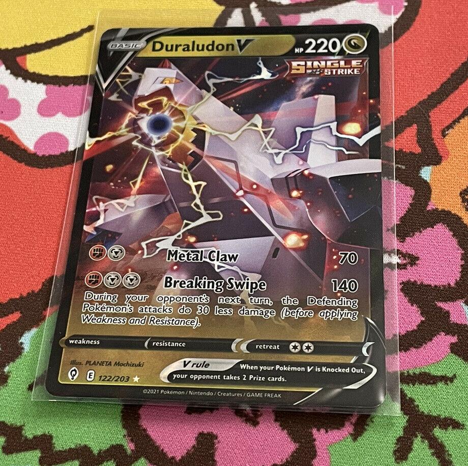 Duraludon V 122/203 Ultra Rare Holo Pokemon Evolving Skies NM/M