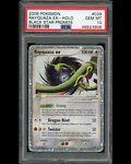 PSA 10 Rayquaza EX Holo Rare Black Star Promo #039 Pokemon Card Pop 18 Swirl