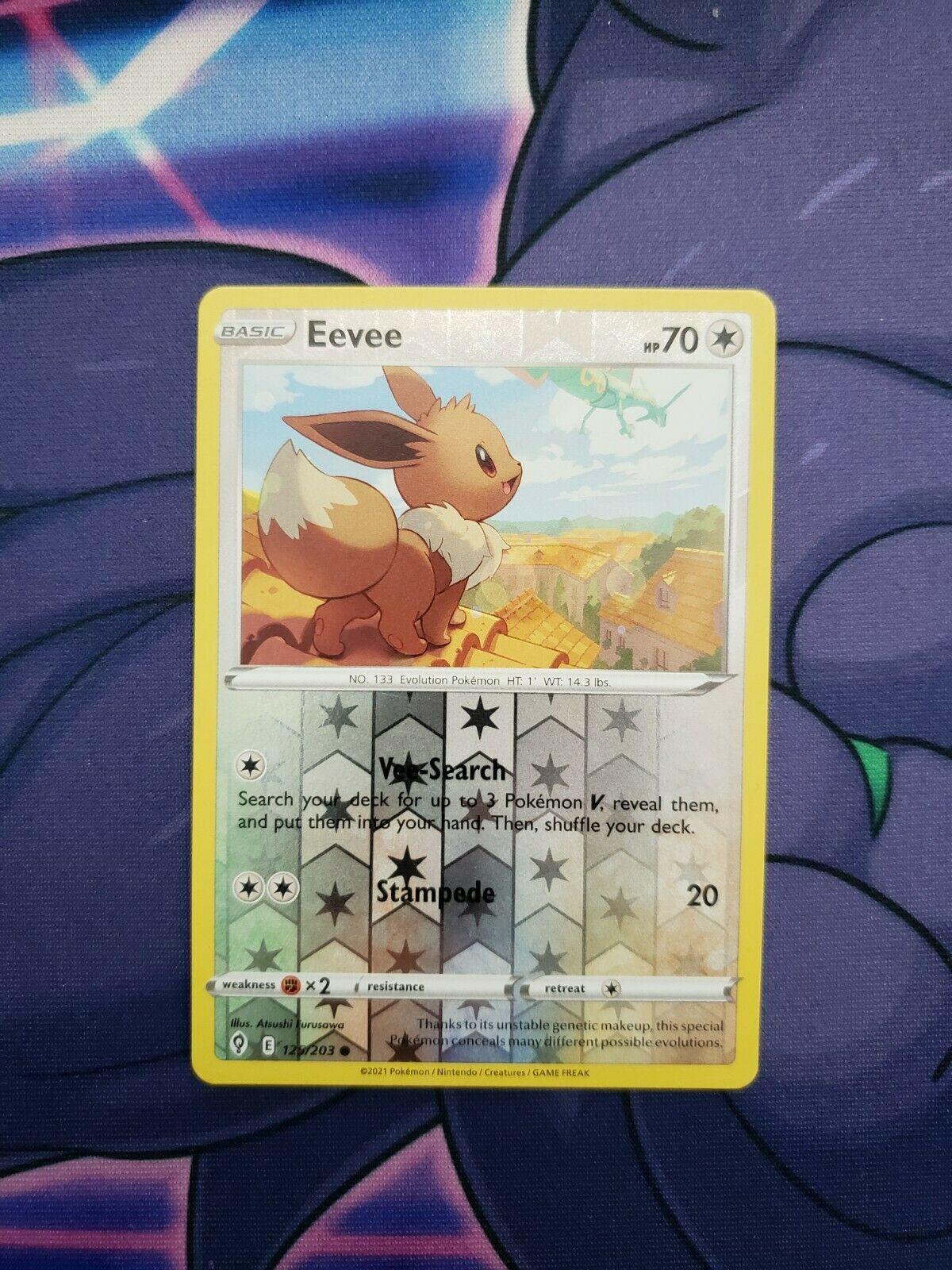 Pokemon - Eevee - Evolving Skies - 125/203 - Reverse Holo