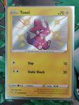 Pokemon Shining Fates Shiny Vault Holo Rare Toxel SV041