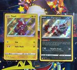 Pokemon Shining Fates Toxel SV041 + Galarian Zigzagoon SV078 Rare SHINY FRESH