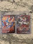 Pokemon Cinderace V/VMAX- Holo Ultra Rare - 018/072 - Shining Fates 18&19/72 NM
