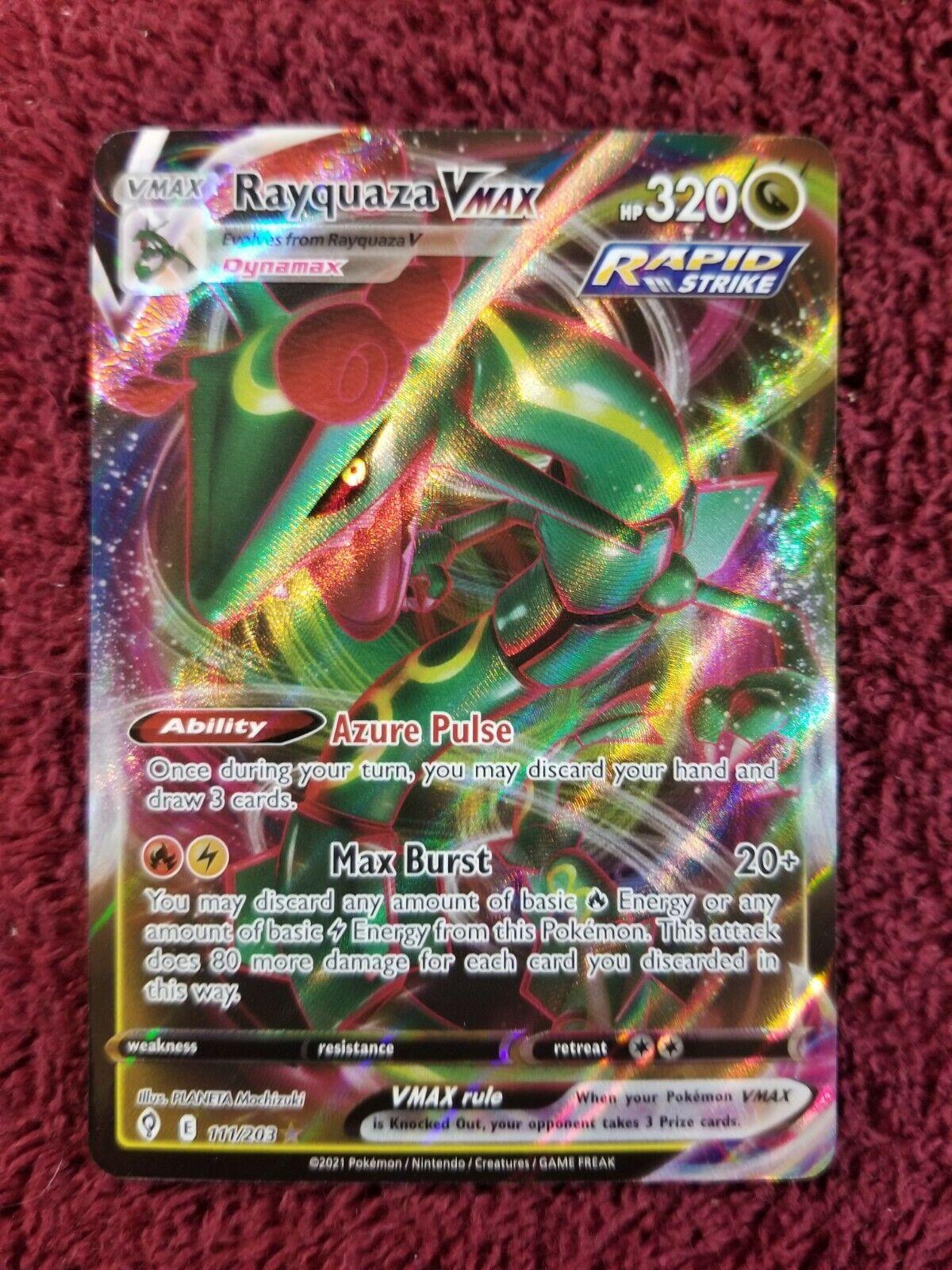 Rayquaza Vmax 111/203 Evolving Skies