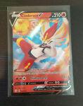 Cinderace V 018/072 - Shining Fates - Full Art - Holo - Pokemon Cards - NM+
