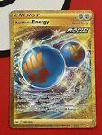 Pokemon TCG Rapid Strike Energy 182/163 Full Art Secret Rare NM - Battle Styles