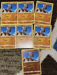 7x Pokemon Battle Styles Timburr 073/163 -1 Is Reverse Holo Mint Condition Cards