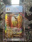 Ho-Oh EX BREAKpoint Full Art Pokemon Card Holo 121/122 CGC 8.5