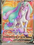 Galarian Rapidash V Full Art. 167/198. Pokémon. Chilling Reign