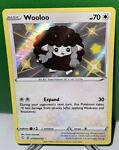 Pokemon Wooloo Shiny Shining Fates SV103/SV122 Holo Rare J1