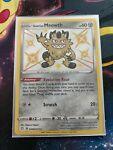 Pokemon Card Galarian Meowth SV086/SV122 Shiny Holo Rare Pokemon Shining Fates