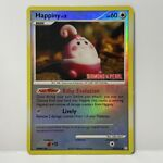 Happiny 52/123 - Stamped Reverse Holo - DP Mysterious Treasures - Pokemon - HP