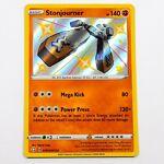 Stonjourner SV075/SV122 Shiny Holo Rare Shining Fates Pokemon Card NM/M