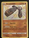 Stonjourner SV075/SV122 Shining Fates Holo Rare Pokemon Card LP Silvering