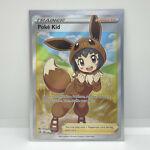 Pokemon Shining Fates Poke Kid Full Art Trainer Holo Rare 070/072