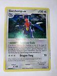 Pokemon Card Garchomp 9/123 DP Mysterious Treasures Set Rare Holo Moderate Play
