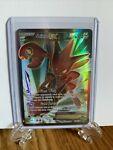 Scizor EX 119/122 Breakpoint Ultra Rare Full Art Pokemon Card