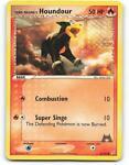 62/95 | Team Magma's Houndour | EX Magma Aqua | Pokemon Card | Light Played