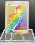 Cheryl 173/163   Battle Styles   Full Art Trainer Rainbow   Pokemon M-NM