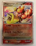 Pokemon TCG - Mysterious Treasures Magmortar Lv. X Ultra Rare Card - 123/123 DMG