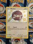Pokémon Card Wooloo SV103/SV122 Shiny Holo Rare Shining Fates LP/Played