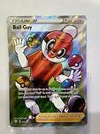 Pokemon Trainer Ball Guy 065/072 Shining Fates Ultra Rare Holo Mint
