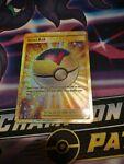 Level Ball 181/163 Pokémon Battle Styles Full Art Secret Rare Gold Card NM