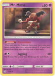 Pokemon Card - Detective Pikachu 11/18 - MR. MIME (holo-foil) - NM/Mint