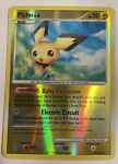 Pokemon TCG - DP Stormfront Pichu Lv. 8 Reverse Holo Card -45/100