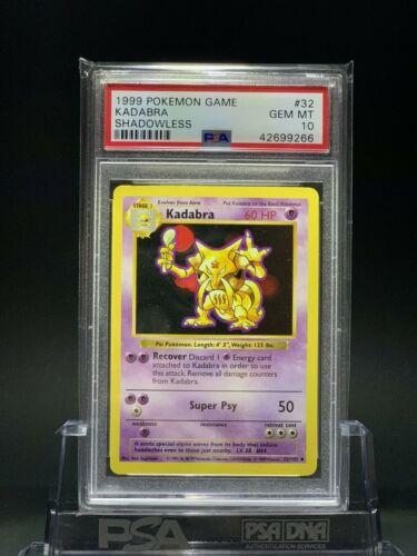 Details about  /Kadabra 32//102 Base Set Unlimited Pokemon Card LP PSA?