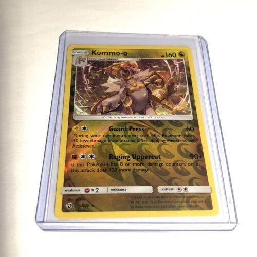 Pokemon Kommo-o Reverse Holo 54/70 Dragon Majesty * Fresh Raw Pull